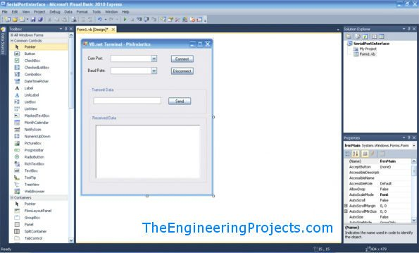 serial port in vb,Microsoft Visual Basic 2010 - Com Port Tutorial, serial port tutorial in vb.net, serial port tutorial in visual studio 2010