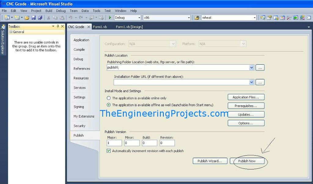 Create Setup File in Visual Studio 2010 - The Engineering Projects
