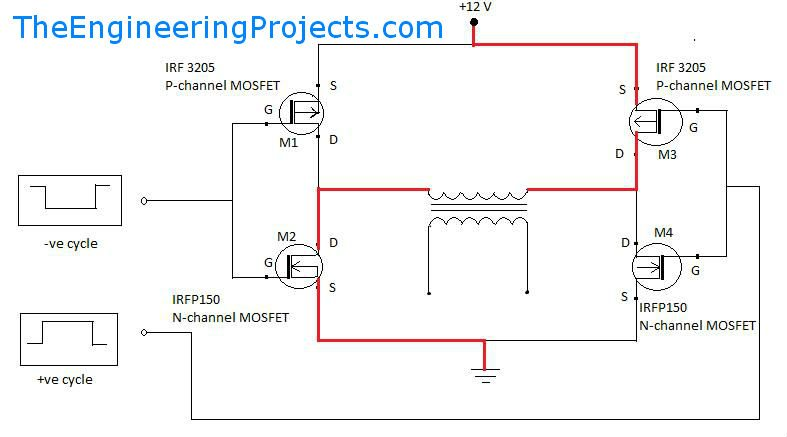 sine wave inverter driver circuit