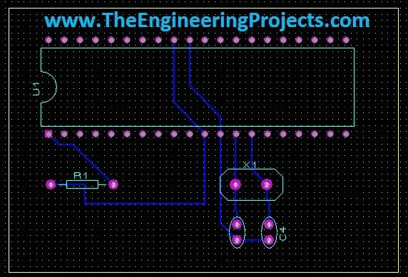 Pcb Designing In Proteus Ares The Engineering Projects