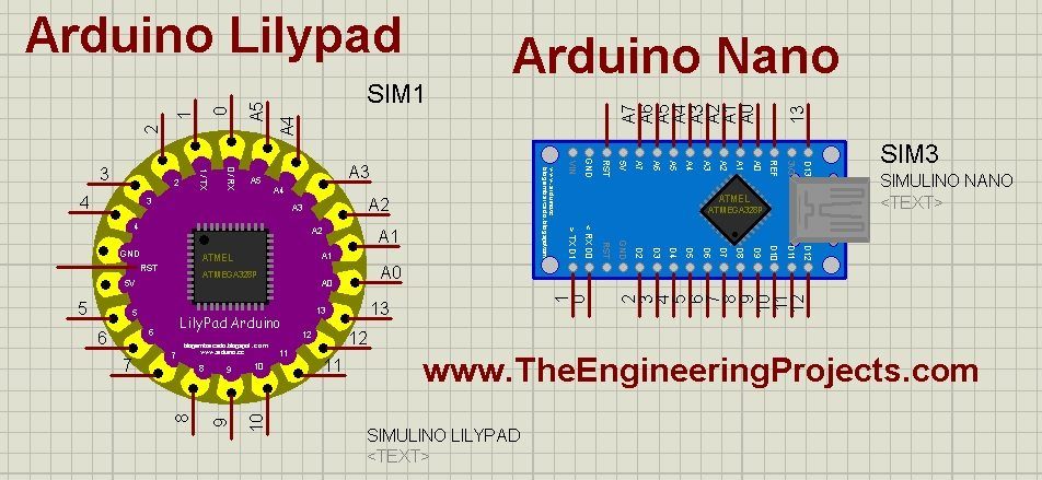 Arduino Lilypad Library for Proteus - The Engineering Projects