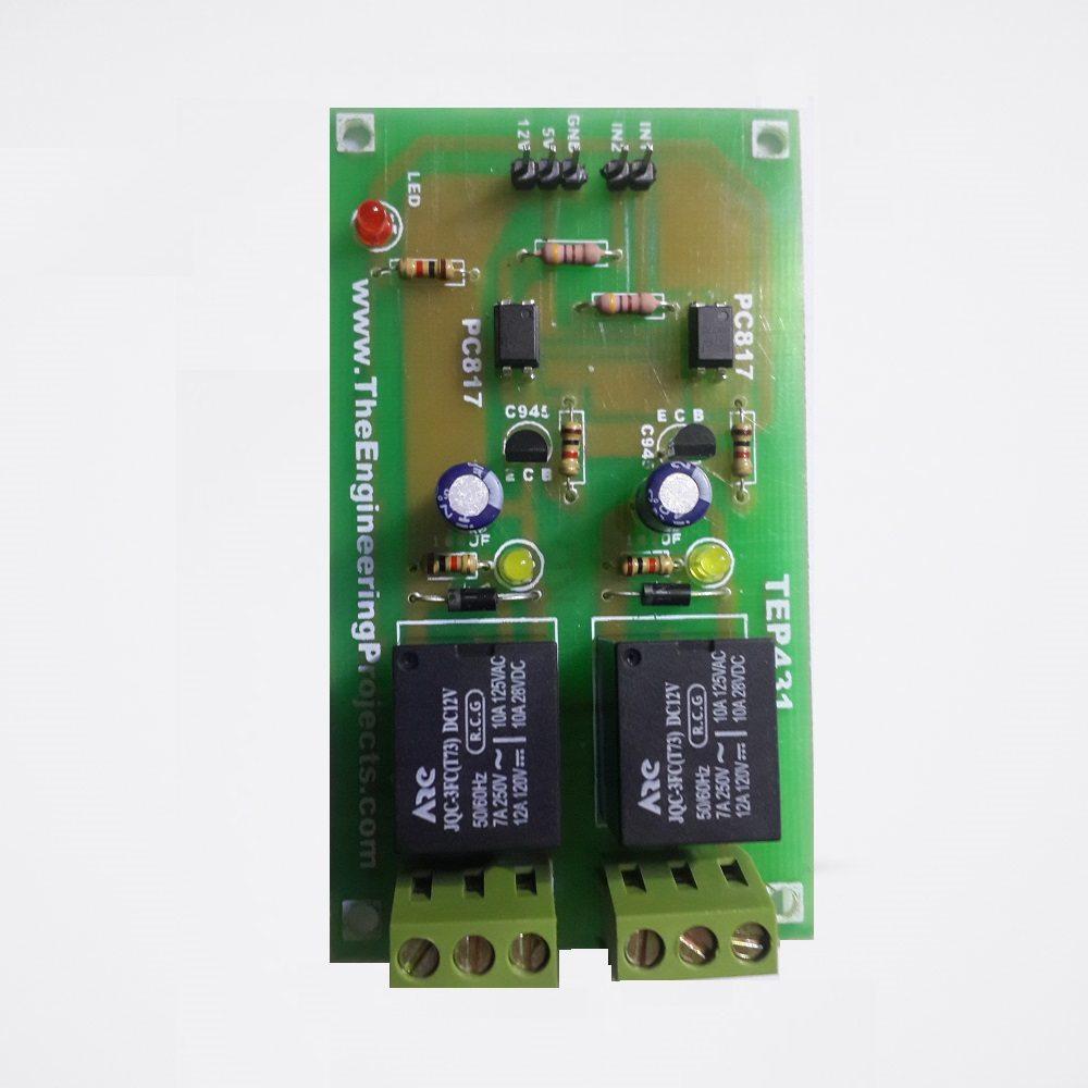 2 Relay Board €� Tep431