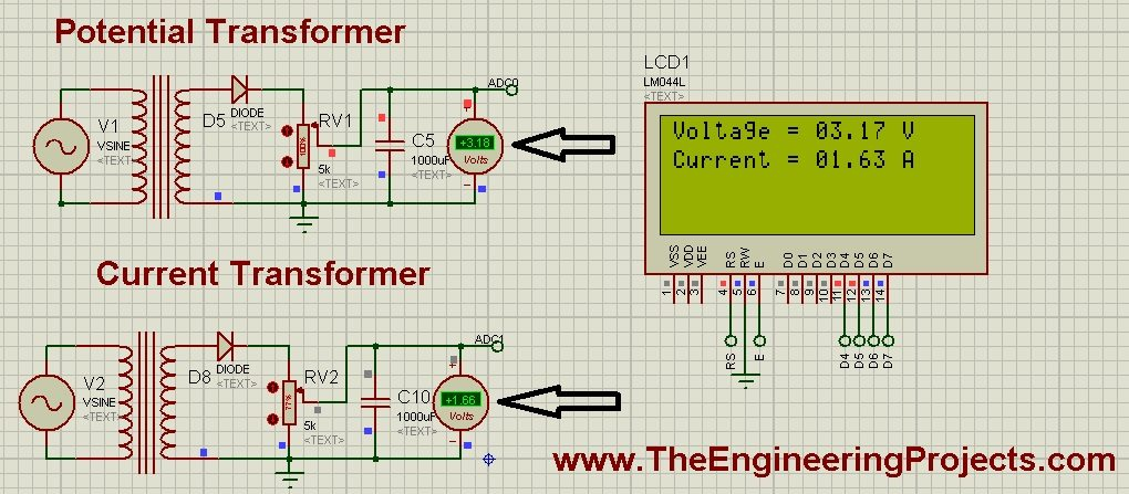 Display ADC value on LCD using PIC Microcontroller, ADC value on PIC Microcontroller, PIC ADC tutorial, PIC with ADC and LCd,PIC LCD ADC