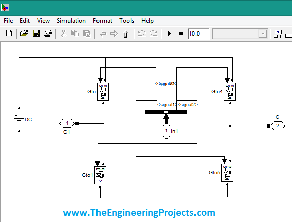 3 level cascaded h bridge inverter in simulink