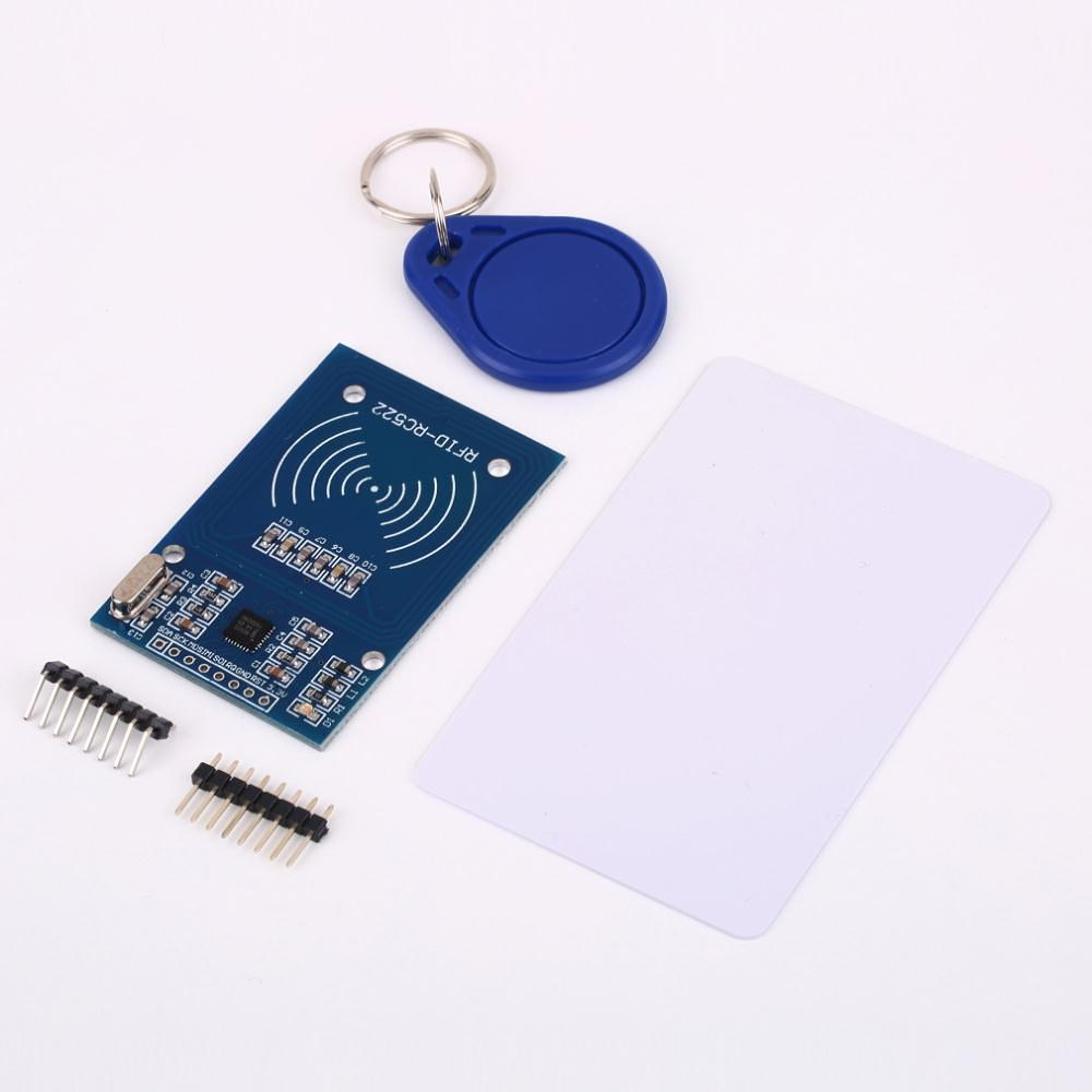 rfid projects In this rfid door lock project we are using arduino and relay to trigger the electric door lock and rfid to authenticate, so your rfid tag will act as a key if you place wrong rfid card near rfid reader a buzzer will beep to alert about wrong card.