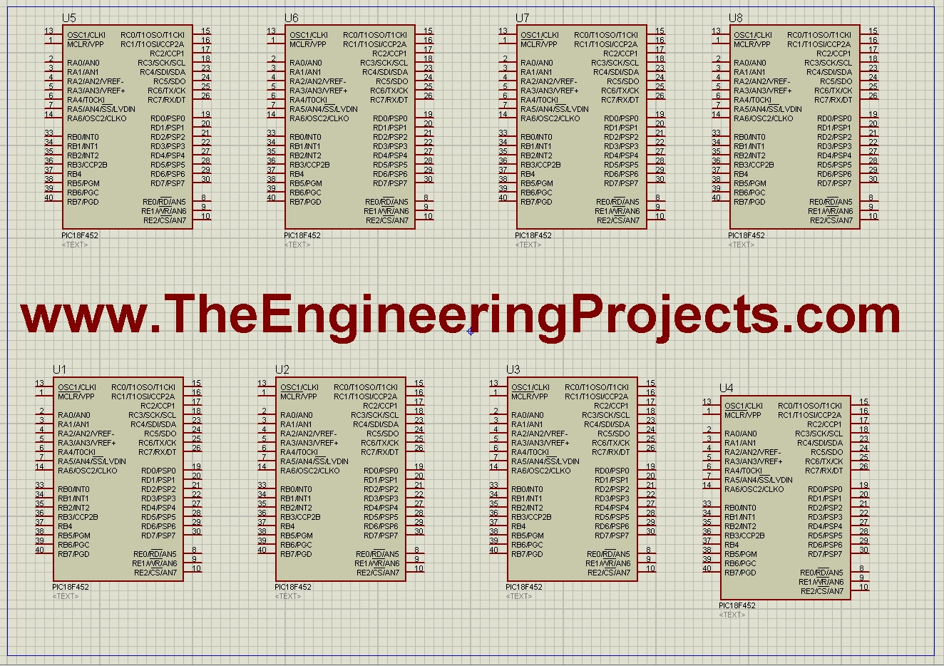 How to Increase work area in Proteus - The Engineering Projects