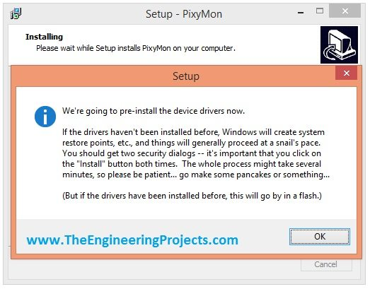 pixyMon installation, how to instal pixymon, pixy camera software, pixy cam software, pixy software, install pixy software, download pixy software