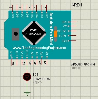 Arduino Pro Mini Library for Proteus - The Engineering Projects