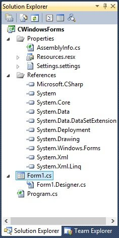 Introduction to C# Windows Forms - The Engineering Projects