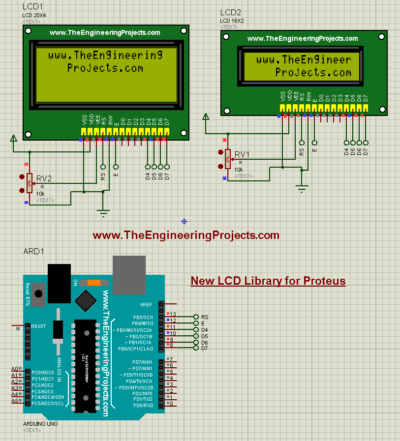 New Proteus Libraries for Engineering Students - The Engineering