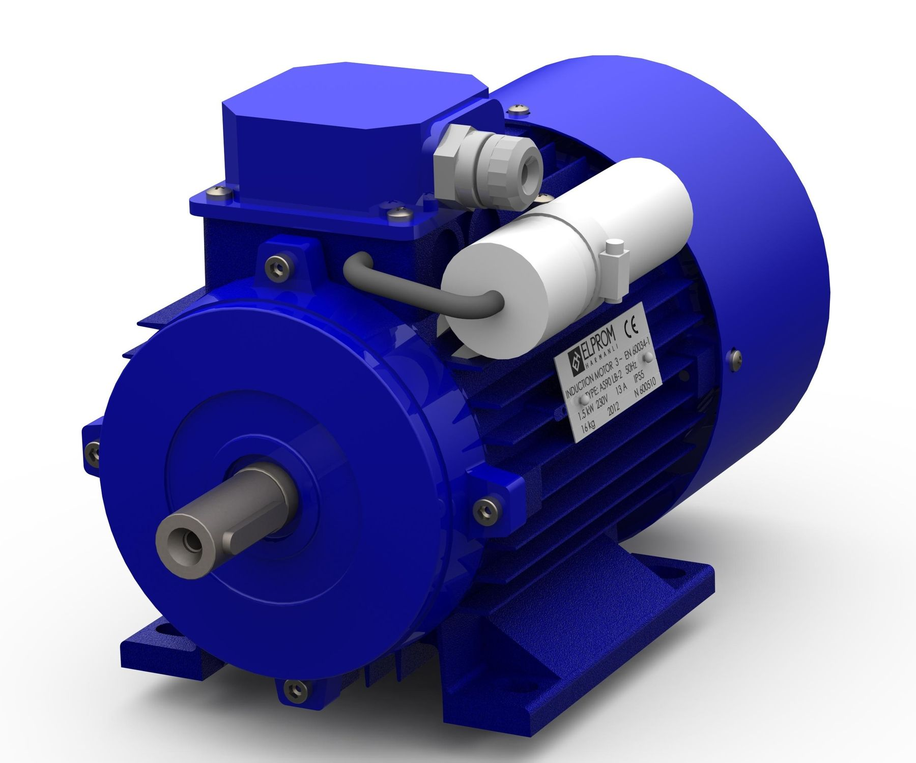 Single phase induction motor the engineering projects for How does a single phase motor work