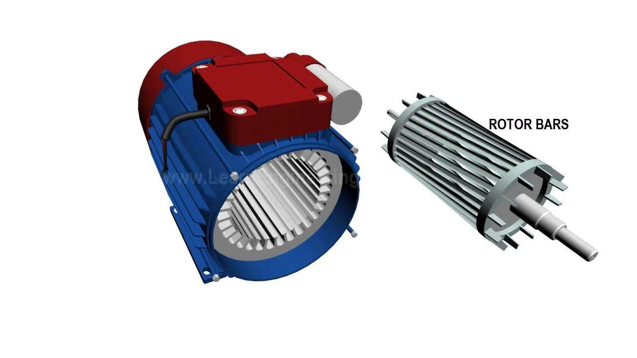 Single phase induction motor the engineering projects for Three phase induction motor