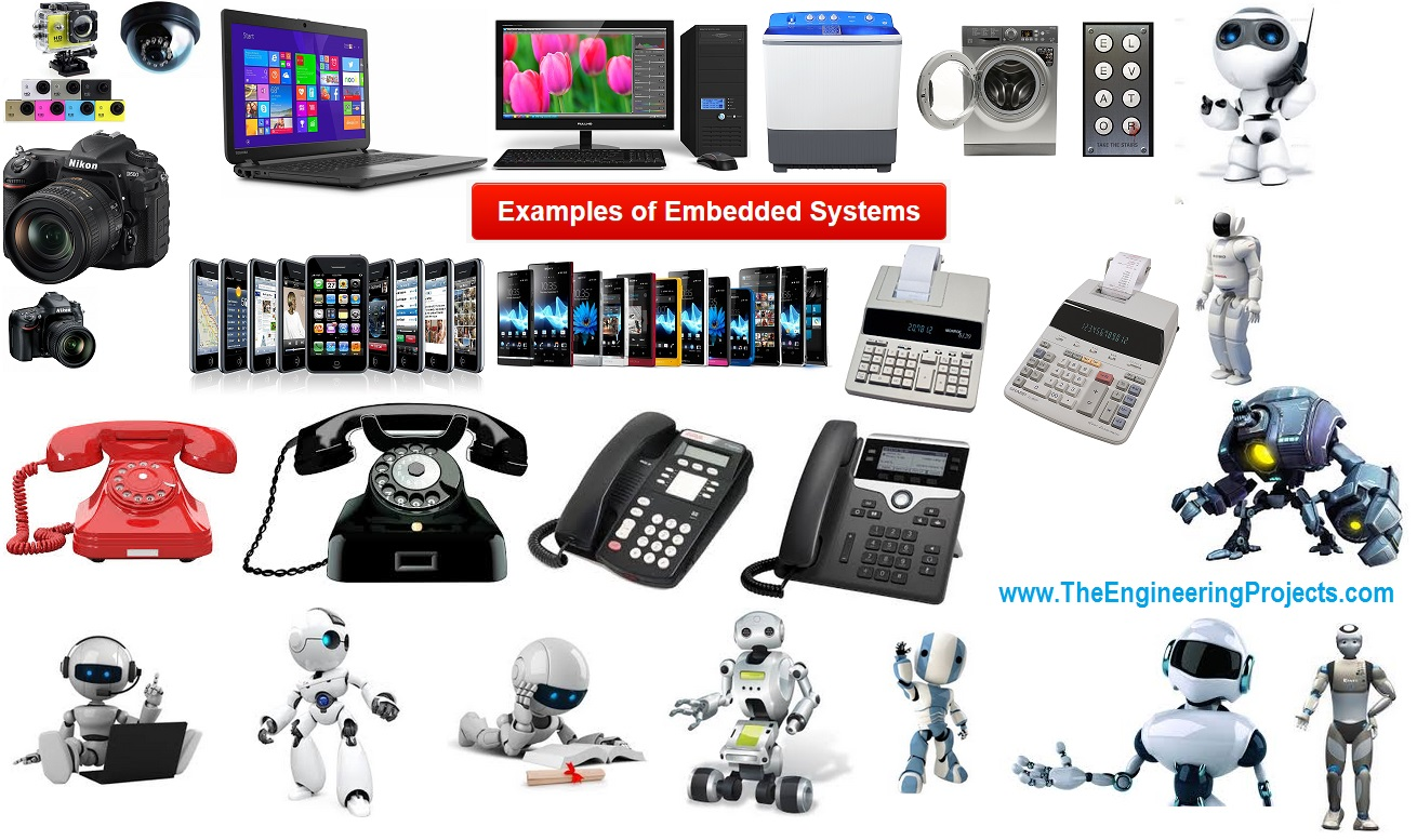 examples of embedded systems, embedded systems examples, embedded systems real life examples, real life embedded systems examples