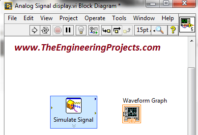 Communication Signal generation in NI LabVIEW 2015, LabVIEW signal generation, How to generate an anlog signal in LabVIW, Generate an analog signal in LabVIEW, Generate signals in NI LabVIEW