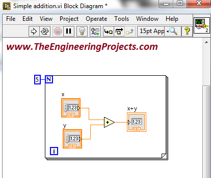 labview programming, Creating your first program in LabVIEW, Programming with the LabVIEW, Using LabVIEW for the first time, How to use LabVIEW, How to make a simple logic in LabVIEW