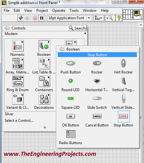 labview programming, Creating your first program in LabVIEW, Programming with the LabVIEW, Using LabvVIEW for the first time, How to use LabVIEW, How to make a simple logic in LabVIEW