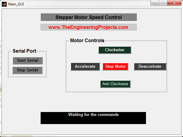 Stepper Motor Speed Control in Matlab - The Engineering Projects