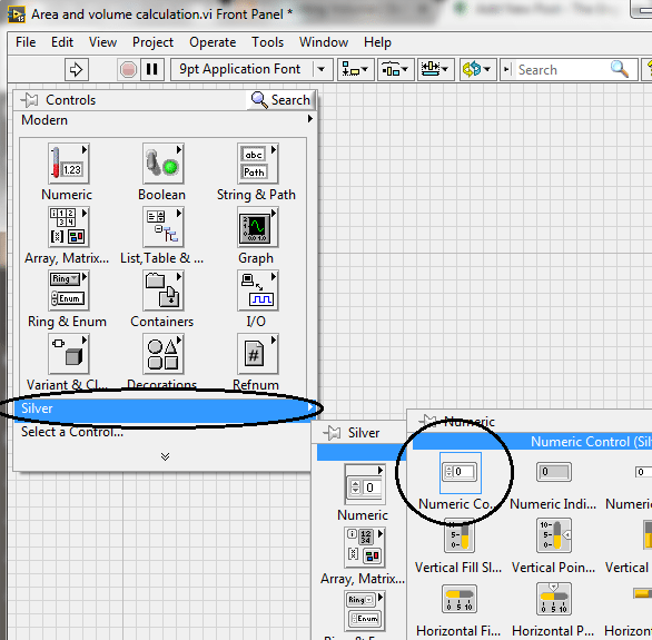 Area and Volume Calculation in LabVIEW - The Engineering
