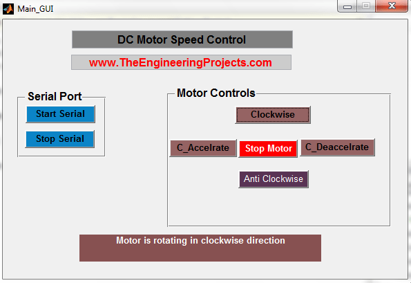 DC Motor Speed Control using Matlab, Control Speed of DC motor using Matlab, Matlab to control the speed of the DC motor , DC motor speed control with Matlab, How to control the speed of the DC motor using Matlab