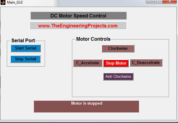 DC Motor Speed Control in Matlab, Control Speed of DC motor using Matlab, Matlab to control the speed of the DC motor , DC motor speed control with Matlab, How to control the speed of the DC motor using Matlab