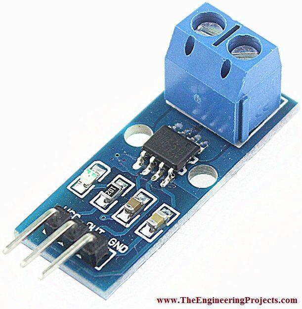 DC Current Sensor ACS712 Arduino Interfacing - The