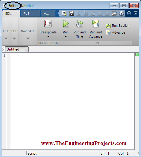 How to Create m File in MATLAB - The Engineering Projects