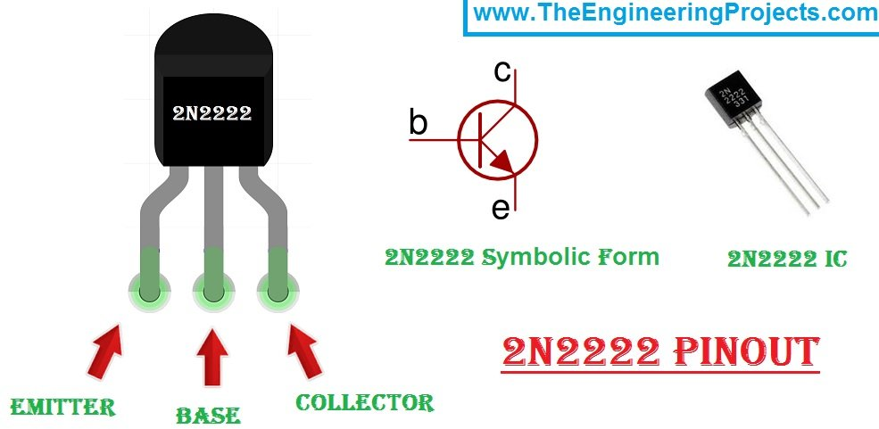 2n2222 pinout,2n2222,Introduction to 2N2222, 2N2222 Introduction, getting started with 2N2222, introduction to 2N2222, 2N2222 introduction, how to use 2N2222, how to use 2N2222A, Introduction to relay driver IC 2N2222, introduction to relay driver IC 2N2222A