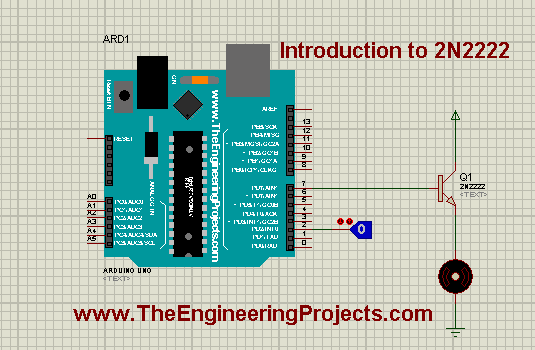 Introduction to 2N2222, 2N2222 Introduction,, Protues 2N2222 simulation, Proteus 2N2222, getting started with 2N2222, introduction to 2N2222, 2N2222 introduction, how to use 2N2222, how to use 2N2222A, Introduction to relay driver IC 2N2222, introduction to relay driver IC 2N2222A