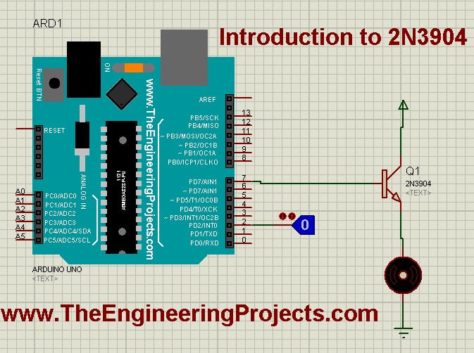 2N3904 pinout, Introduction to 2N3904, how to use 2N3904, getting started with 2N3904, how to start using 2N3904, getting started with transistor 2N3904, how to start with 2N3904