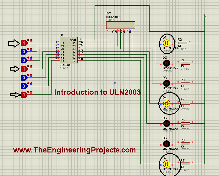Introduction to ULN2003, ULN2003 Introduction, getting started with uln2003, introduction to uln2003A, uln2003A introduction, how to use uln2003, how to use uln2003A, Introduction to relay driver IC uln2003, introduction to relay driver IC uln2003A