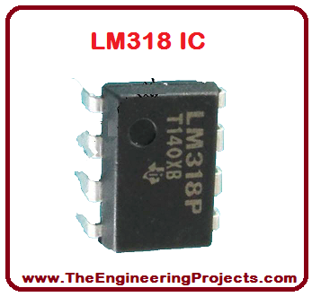 Introduction to LM318, LM318 Pinout, LM318basics, basics of LM318, getting started with LM318, how to get start with LM318, how to use LM318, LM318 proteus, proteus LM318, LM318 proteus simulation