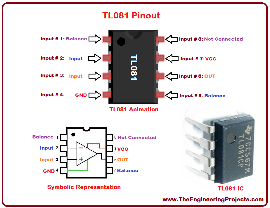 tl072 preamp schematic  | theengineeringprojects.com