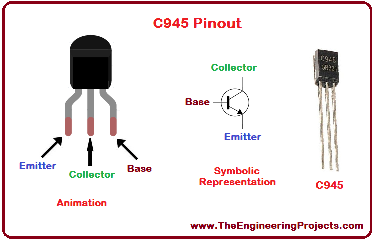 Introduction to C945, C945 Pinout, C945 basics, basics of C945, getting started with C945, how to get start C945, C945 proteus, Proteus C945, C945 Proteus simulation
