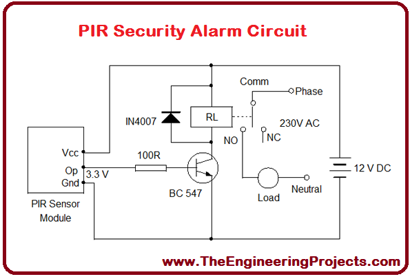 Arduino Night Security Alarm With Pir Sensor Thesis Ldr Circuit