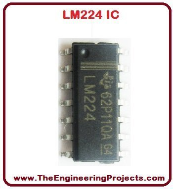 LM224 Pinout, LM224 basics, basics of LM224, getting started with LM224, how to get start LM224, LM224 proteus, Proteus LM224, LM224 Proteus simulation