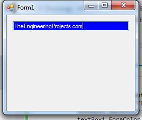 C# TextBox Control