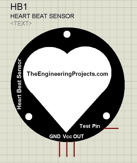 Heart Beat Sensor Library for Proteus,Heart Beat Sensor proteus, heart beat in proteus, proteus heart beat, heart beat simulation in proteus