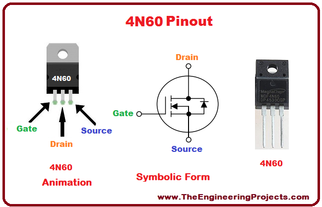Introduction to 4N60, basics of 4N60, 4N60 basics, getting started with 4N60, how to get start with 4N60, how to use 4N60, 4N60 Proteus simulation, 4N60 proteus, Proteus 4N60, proteus simulation of 4N60