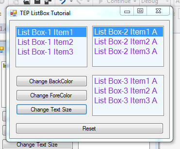 The listbox control the complete wpf tutorial.