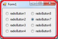 C# RadioButton