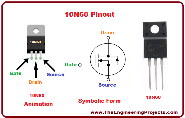 Introduction to 10N60, basics of 10N60, 10N60 basics, getting started with 10N60, how to get start with 10N60, how to use 10N60, 10N60 Proteus simulation, 10N60 proteus, Proteus 10N60, proteus simulation of 10N60