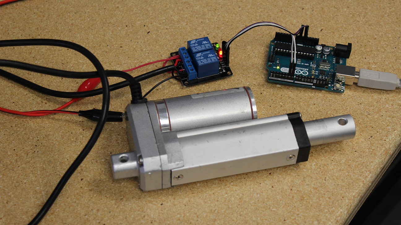 Awesome How To Use An Arduino With Linear Actuators The Engineering Projects Wiring Database Gramgelartorg