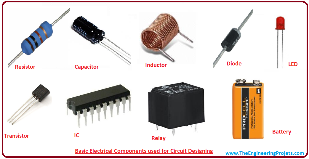 Basic Electronic Components used for Circuit Designing - The ...