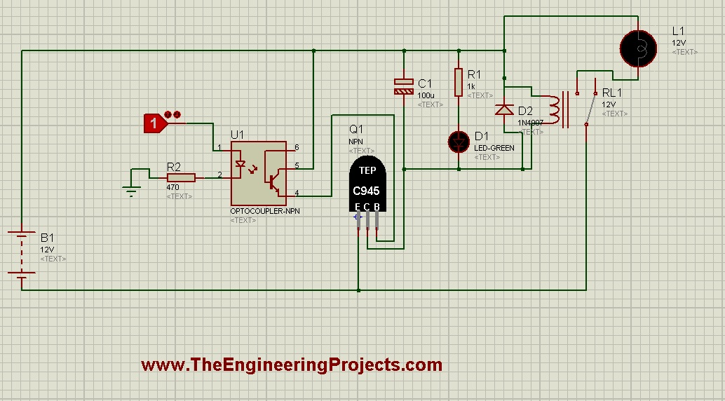 C945 Library for Proteus - The Engineering Projects