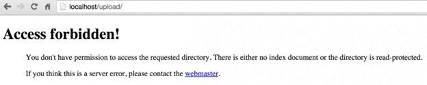 error 403 in wordpress