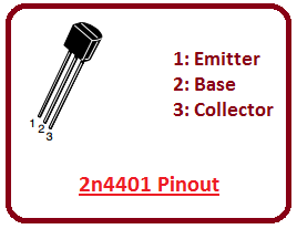 introduction to 2n4401, intro to 2n4401, basics of 2n4401, working of 2n4401