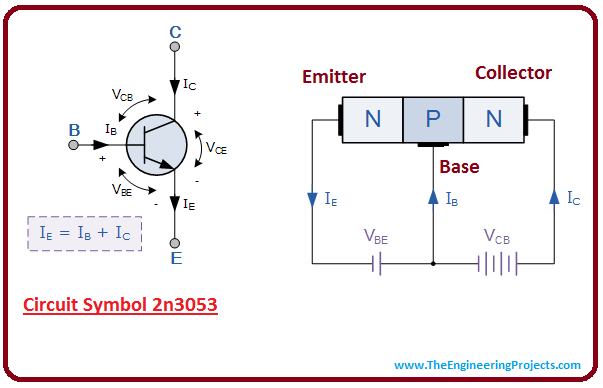introduction to 2n3053, intro to 2n3053, basics of 2n3053, working of 2n3053