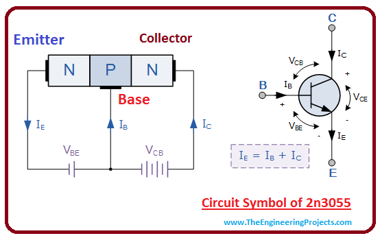 introduction to 2n3055, intro to 2n3055, basics of 2n3055, working of 2n3055