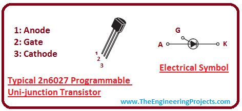 2N6027 Programmable UJT Transistor Various Quantity
