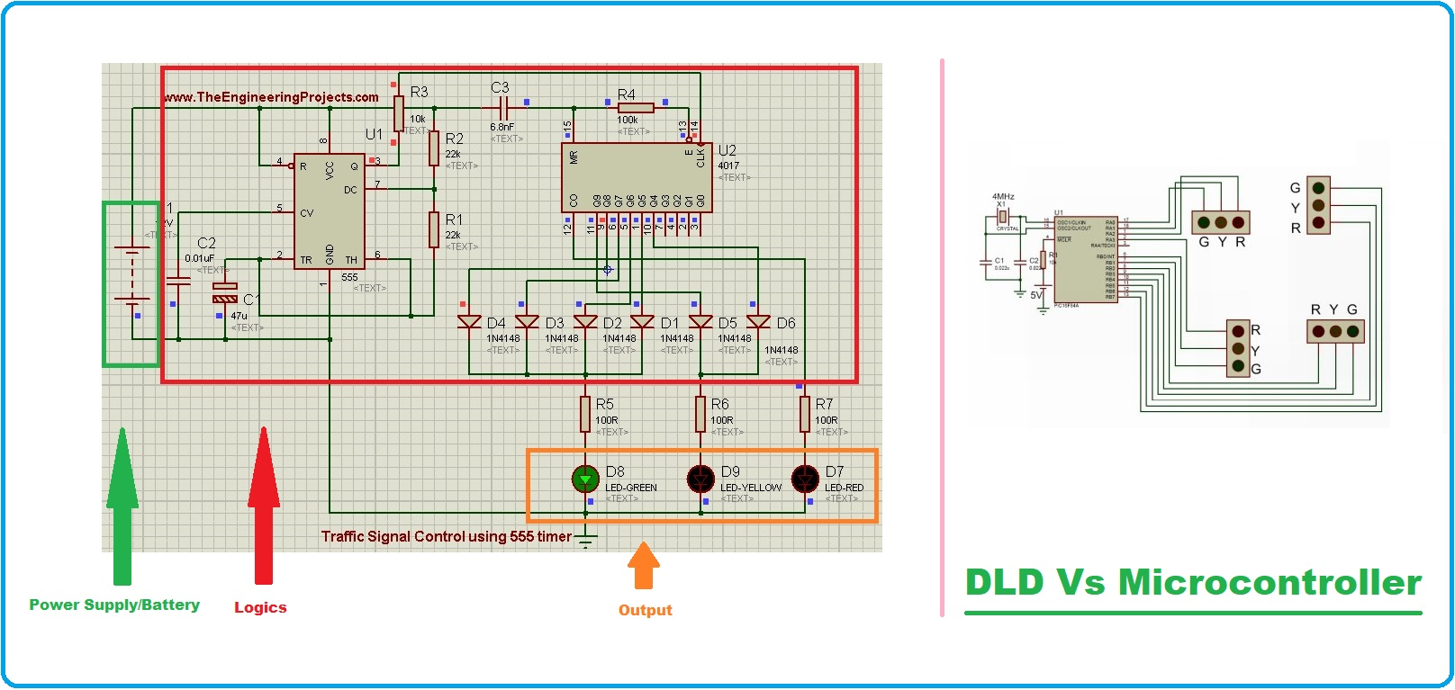 Microcontroller , Microcontroller Programming, Microcontroller types, types of Microcontroller, Microcontroller examples, Microcontroller applications, Microcontroller vs microprocessor, Microcontroller applications